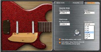 Jtv variax acoustic patch