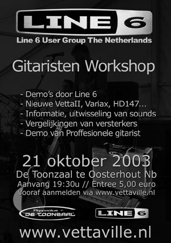 Line 6 User Group Meeting In Holland Review 21 10 03